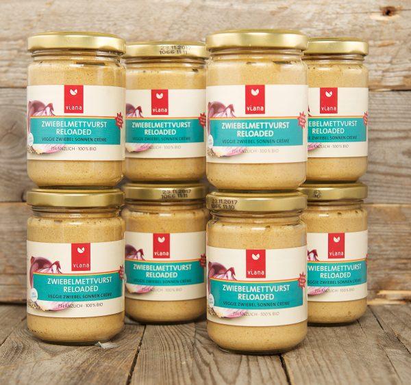 Viana Zwiebelmettvurst Reloaded - hearty onion spread