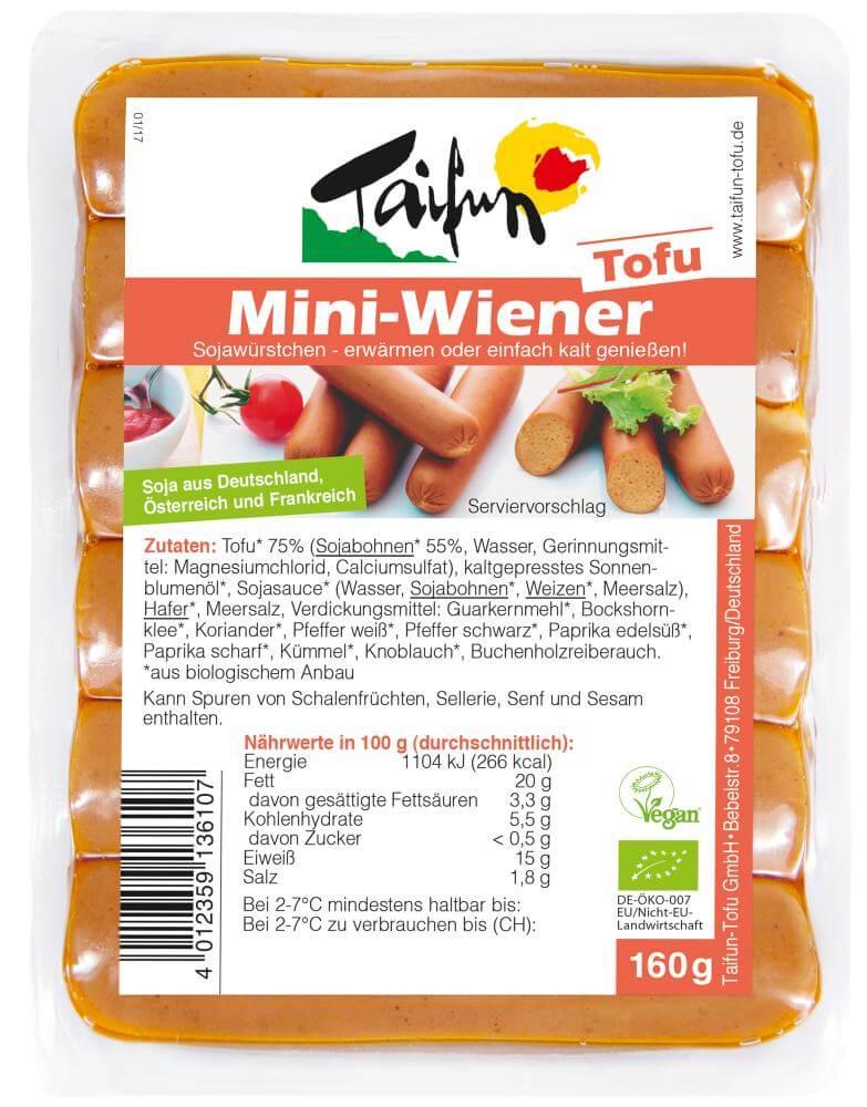 Taifun Tofu Mini-Wiener (8x160 g)
