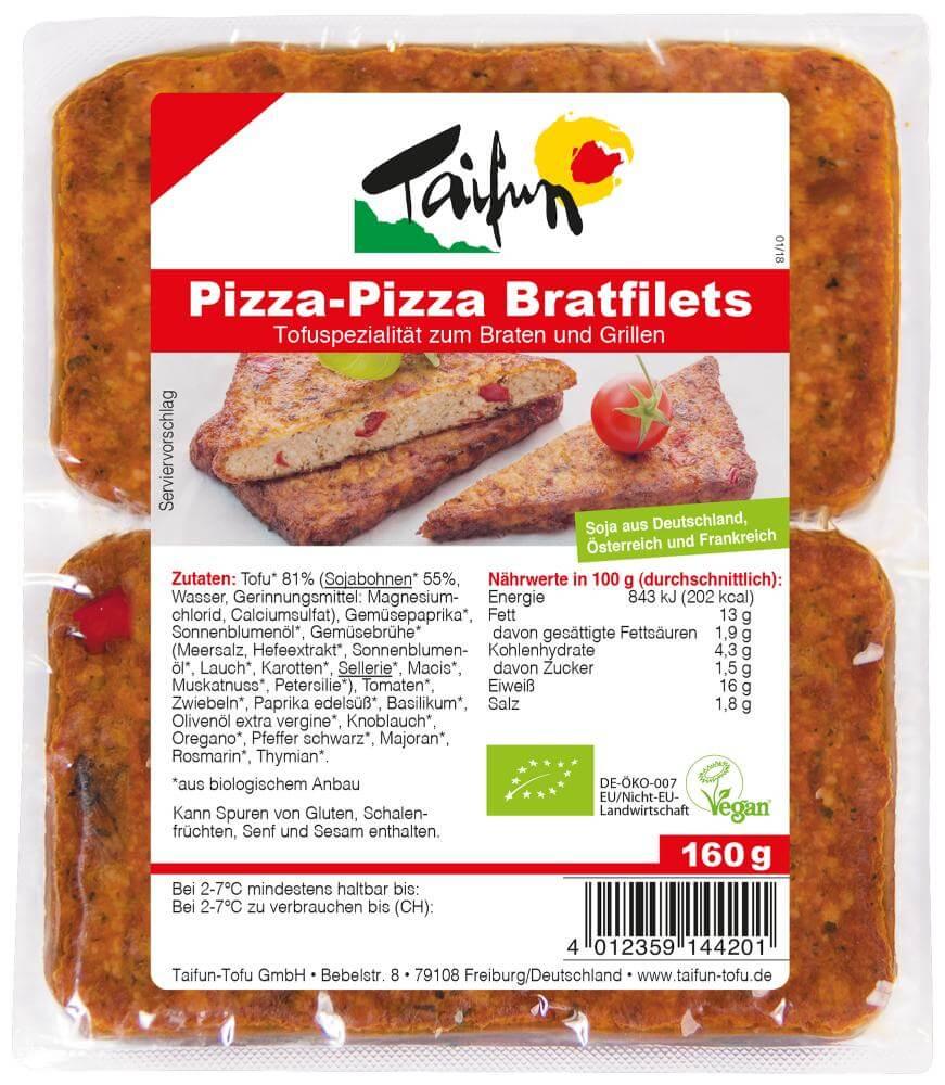 Taifun Pizza-Pizza Bratfilets (8x160 g)