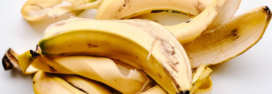 Bananenschalen Zero Waste